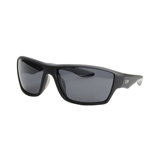 Striker SS1 Sunglasses - BLACK/GREY WITH SMOKE LENS
