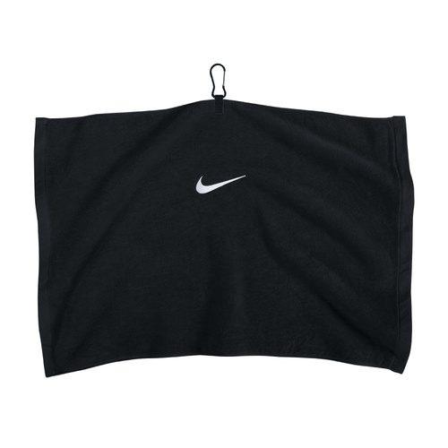 Nike Black Embroidered Towel