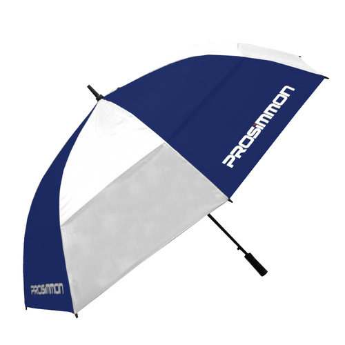 "Prosimmon Icon Windbuster 68"" Umbrella - NAVY/WHT"