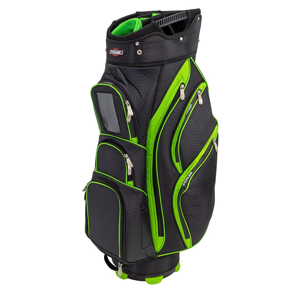 Taylormade Golf Bag >> Slotline Tour Classic 2.0 Golf Cart Bag - Lime | Free Delivery Aus Wide | Golf World