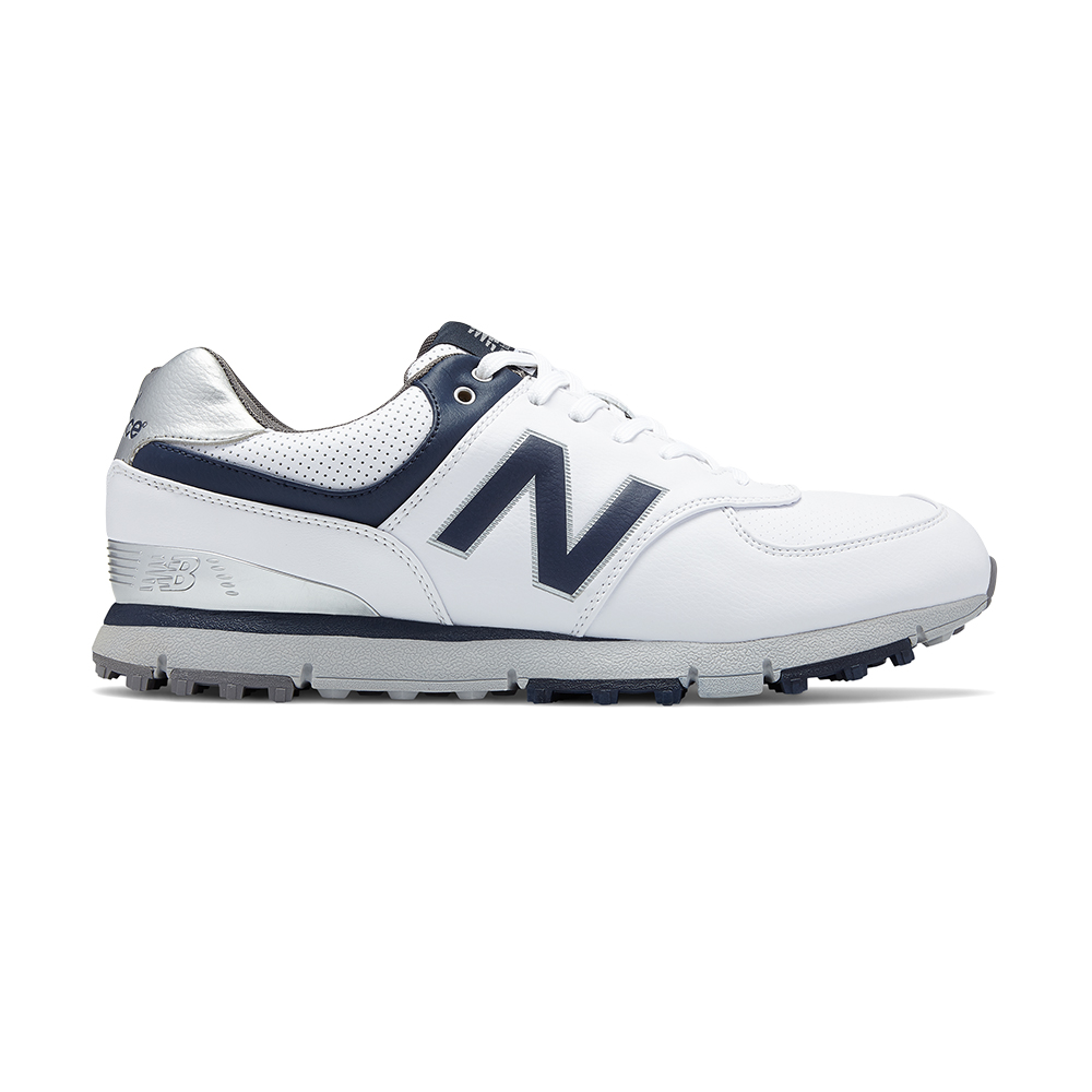 buy online 68bba afd15 New Balance NBG574 SL Golf Shoes - White Navy  Size  8 US