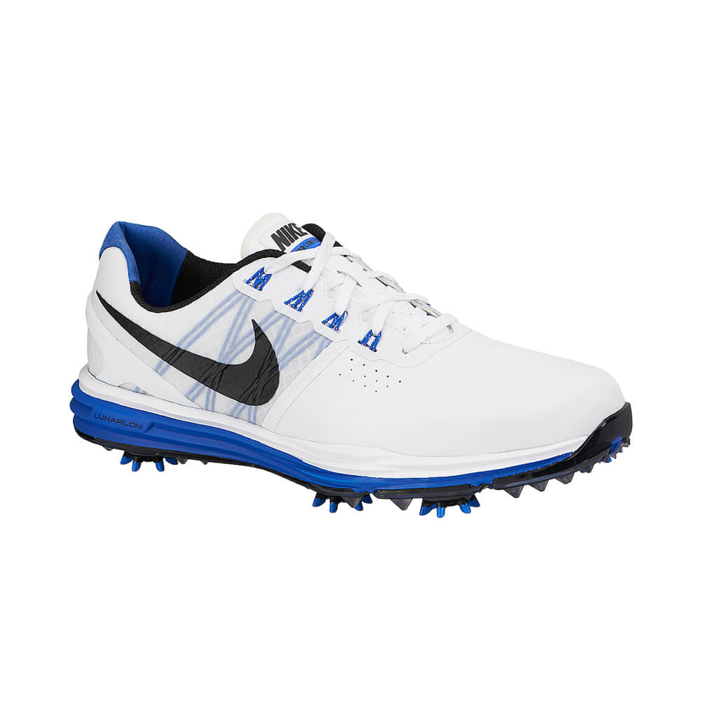 brand new 0560f a0204 Nike Lunar Control 3 Mens Golf Shoes Blue  Size  7.5 US