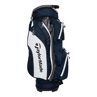 TaylorMade TM18 Cart Bag - Navy/Charcoal/White