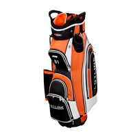 Slotline Dynasty Golf Cart Bag - Orange/Black