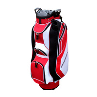 Prosimmon Prolock Golf Cart Bag - Red