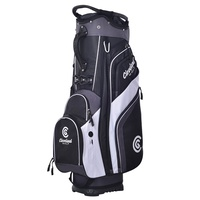 Cleveland CG Cart Bag - Black Char White