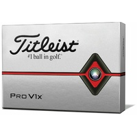 New Titleist Pro V1x White Golf Balls