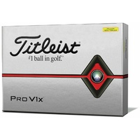New Titleist Pro V1x Yellow Golf Balls
