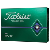 Titleist AVX White 1 Dozen Golf Balls