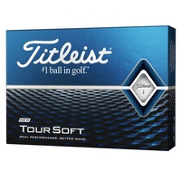 Titleist Tour Soft White 1 Dozen Golf Balls