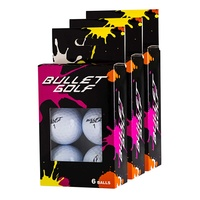 Bullet White Golf Balls - 18 Pack