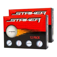 Brosnan Striker Golf Balls - 2 Dozen
