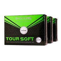 Slotline Tour Soft Golf Balls - 3 Dozen White