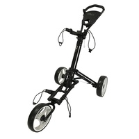 Prosimmon One Fold Golf Buggy - Black/White