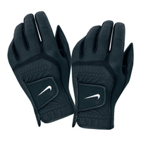 Nike Dura Feel Golf Glove - Blk/Wht