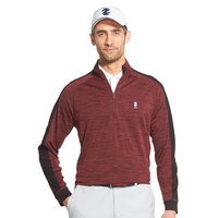 IZOD Long Sleeve Colourblock 1/2 Zip Jacket - Port Royale