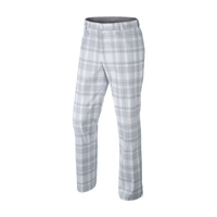 Nike Fashion Plaid Pant - White