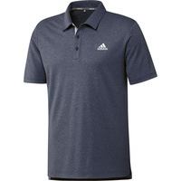 adidas Drive Heather Golf Polo - Navy