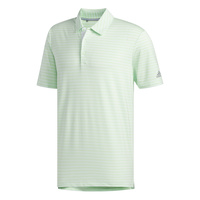 adidas Ultimate365 Stripe Polo Shirt - Green [Size:Small]