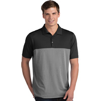 Antigua SS Venture Polo - Black