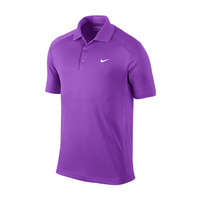 Nike Mens Dri-Fit UV Tech Polo Bright Grape