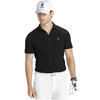 IZOD Solid Grid Polo - Black