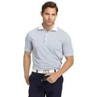 IZOD Feeder Stripe EDI Polo - Bright White