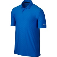 Nike Mobility Emboss Polo - Photo Blue