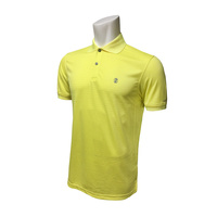 IZOD SS Texture Stripe Polo - LIMELIGHT