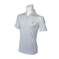 IZOD Greenie Feeder Stripe Polo - High Rise