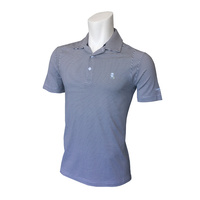 IZOD Greenie Feeder Stripe Polo - Midnight