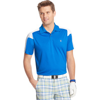 IZOD SS Prize Winners Pieced Polo - Prince Blue