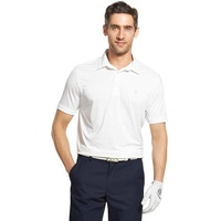 IZOD SS Cool Flex Polo Shirt - White