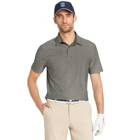 IZOD SS Stretch Title Holder Polo - Smoked Pearl