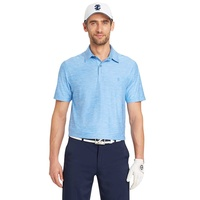 IZOD SS Stretch Title Holder Polo - Blue Revival
