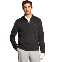 IZOD Hydra Shield 1/4 Zip Pullover - Black