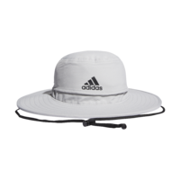 adidas UV Wide Brim Grey Sun Hat