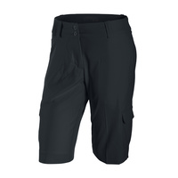 Nike Ladies Tech Long Sport Shorts - Black