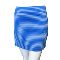 IZOD Stripe Knit Skort - Blue Revival