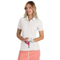 Antigua Pearl Ladies Polo - White