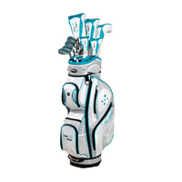 Tour Edge Lady Edge Package - White/Teal