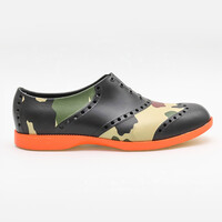 Biion Oxford Mens Shoes - Camo