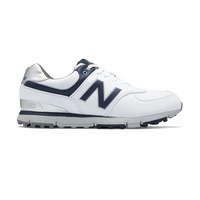 New Balance NBG574 SL Golf Shoes - White/Navy