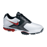 Nike Air Academy II Mens Golf Shoes - White/VARSITY Red - Black
