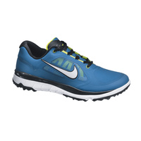 Nike FI Impact Mens Golf Shoes - Military Blue/White