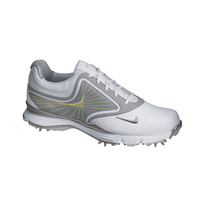 Nike Lunar Links Ladies Golf Shoes - White/Metallic Cool Grey