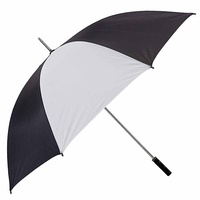 Brosnan Mustang 60 Inch Umbrella (NL Black/White)
