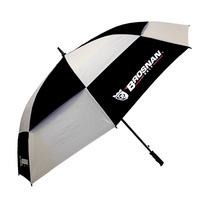 Brosnan Tour Classic Windbuster 68 Inch Umbrella - Black/White