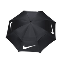 Nike 68 Inch Windsheer Umbrella - Black/White