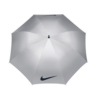 Nike 59 Inch UV Windproof Umbrella - Silver/Black